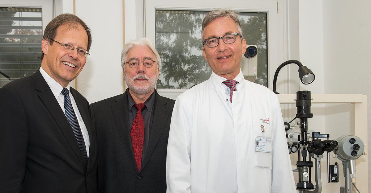 Schon 600 Patienten versorgt: Guter Start für neuen augenärztlichen Notdienst in Bonn + + + mehr: