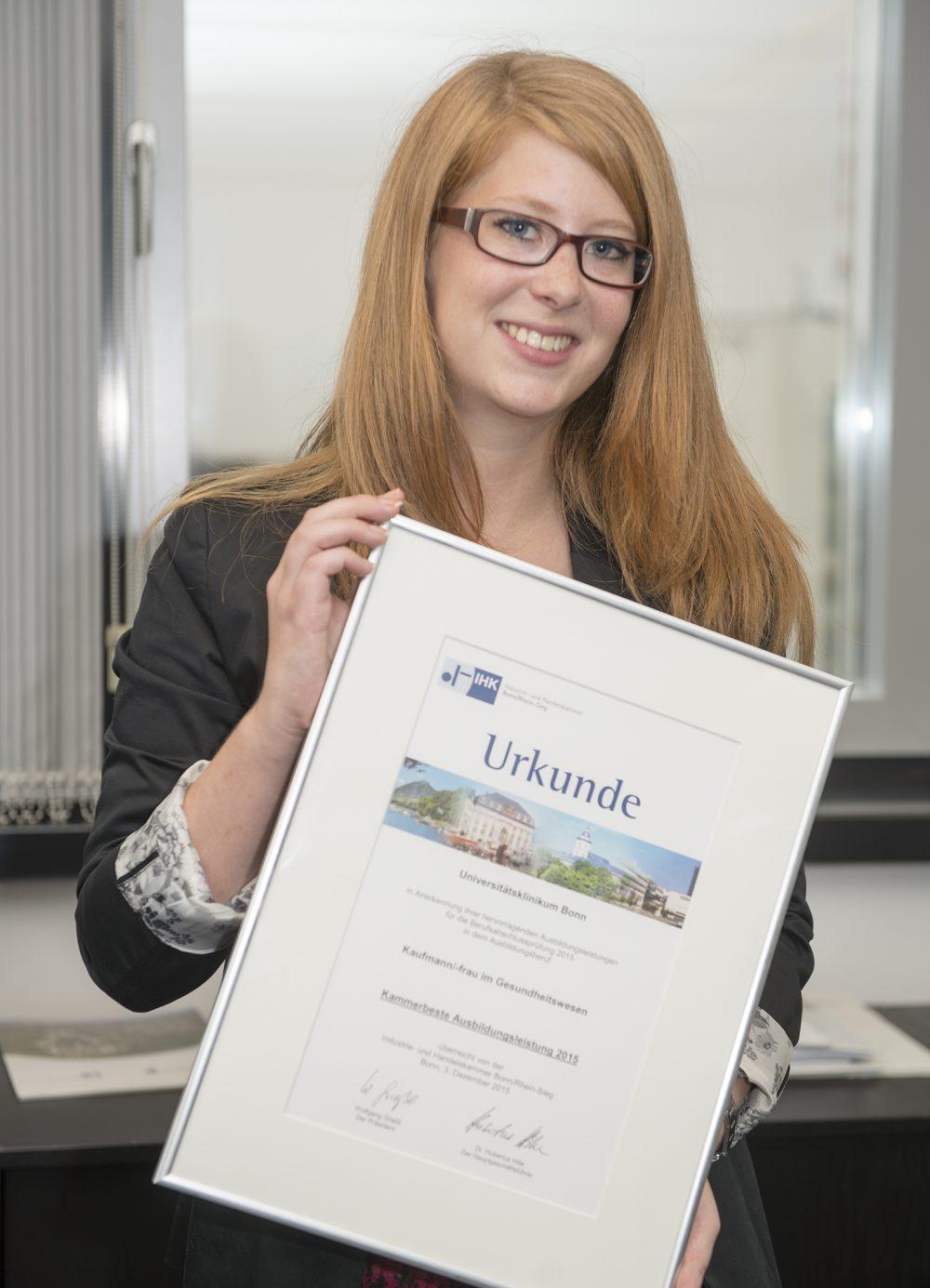 Deutschlands beste Ausbildungsbetriebe: Das Universitätsklinikum Bonn (UKB) gehört zu den Testsiegern