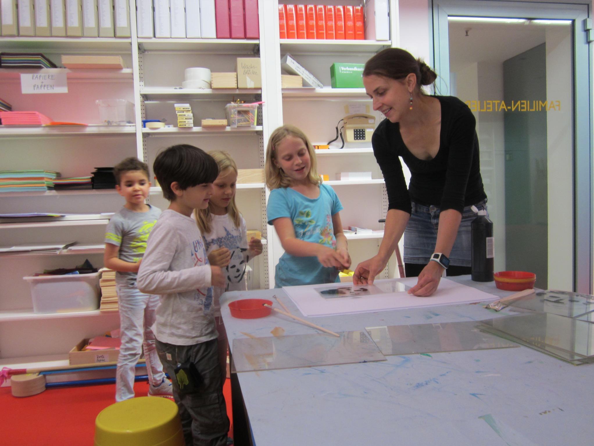 Workshop für Kinder mit Diabetes im Bonner Kunstmuseum