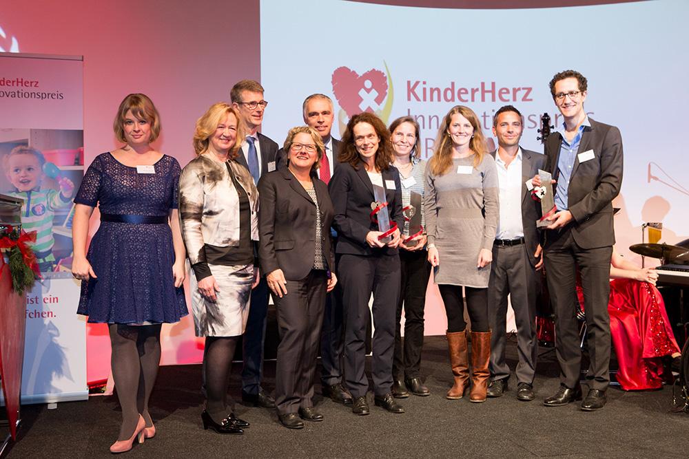 Kinderkardiologie des Universitätsklinikums Bonn gewinnt KinderHerz-Innovationspreis NRW 2016