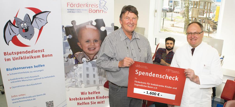 1.600 Euro für krebskranke Kinder und Jugendliche