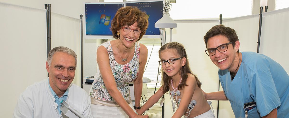 Dank Spende Belastungstest für herzkranke Kinder ab sechs Jahre möglich