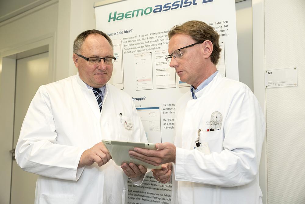 HAEMOASSIST 2: Digitale Innovation für den Patienten daheim