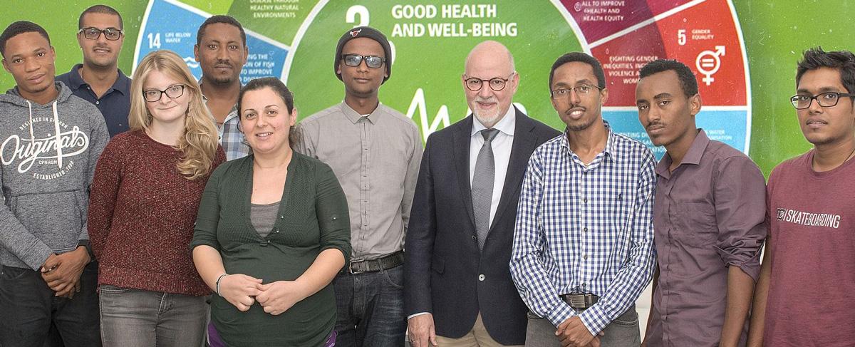 """Eröffnung des Masterstudiengangs """"Global Health – Risk Management and Hygiene Policies"""