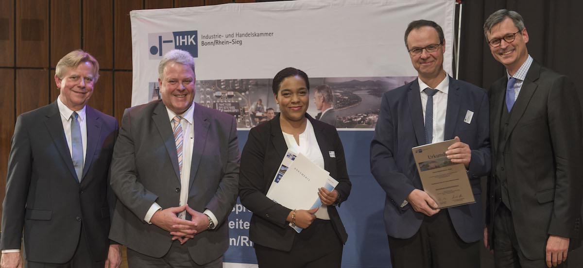 Erfolgsmodell Kaufmännische Ausbildung an der Uniklinik Bonn