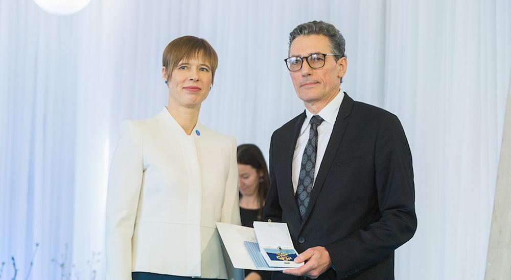 Prof. Haberl mit höchstem Orden Estlands ausgezeichnet