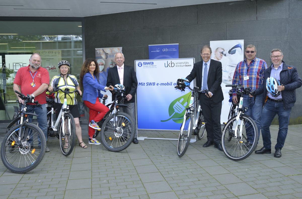 Viele wollen weiterhin zur Arbeit radeln: Stadtwerke und Universitätsklinikum Bonn verlängern ihre Kooperation