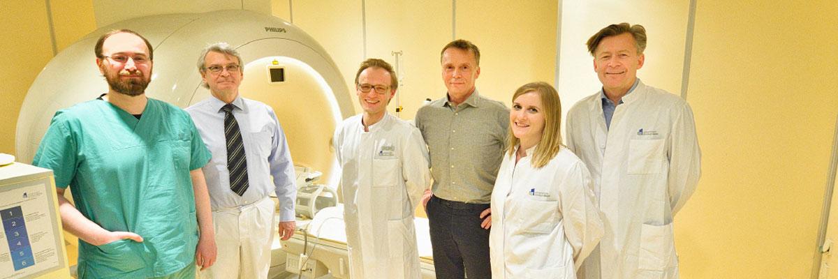 Deutschlandweit erstes Gerät für hoch fokussierten Ultraschall bei Tremor und Parkinson