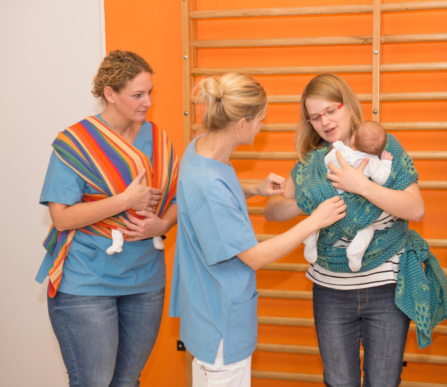 """111-mal """"Fit für den Start"""" mit dem Neugeborenen – Kurse für Eltern"""