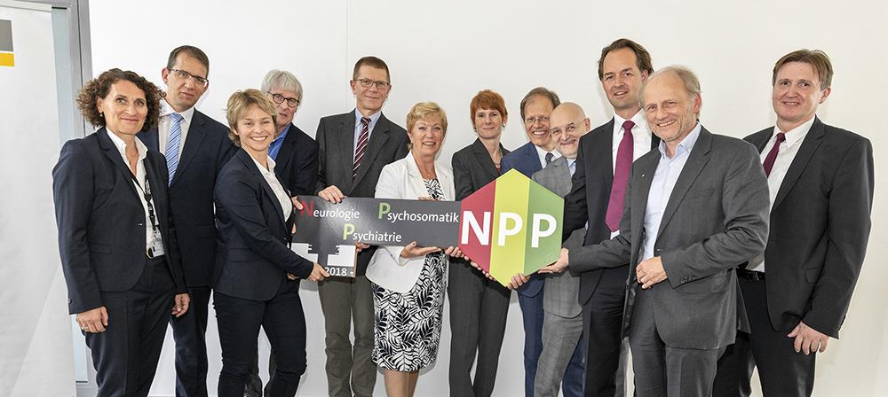Eröffnung des neuen Gebäudes der Neurologie, Psychiatrie und  Psychosomatik (NPP) am UKB mit Klinikfest
