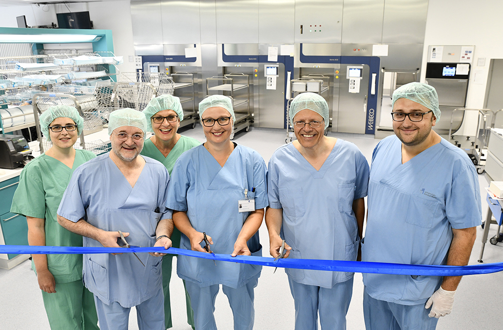Moderne Sterilisationsanlage am Universitätsklinikum Bonn eröffnet