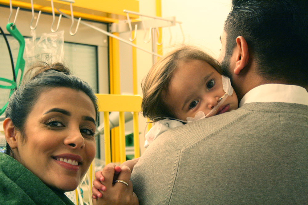 Lebensrettender Eingriff für Mädchen aus Afghanistan am Universitätsklinikum Bonn