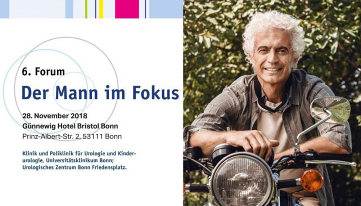 "6. Forum ""Der Mann im Fokus"" am 28. November 2018"