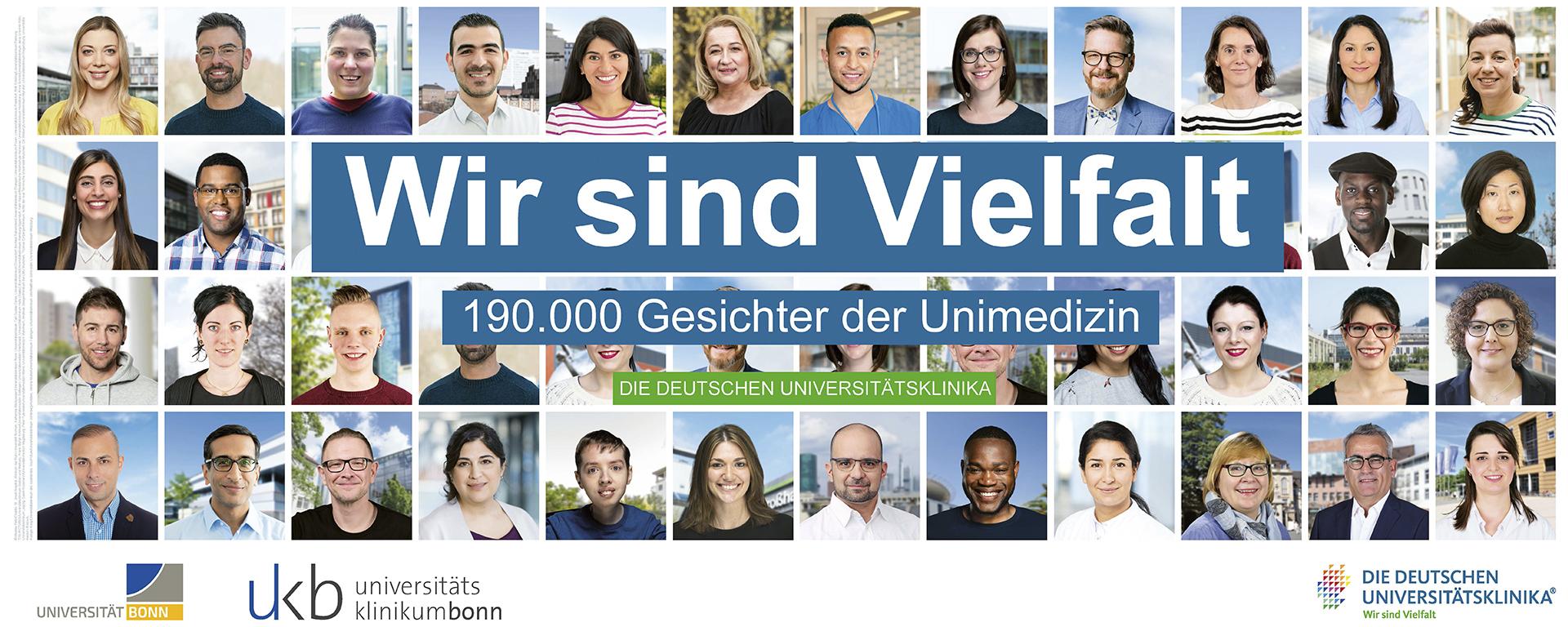 Vielfalt der Kulturen und Lebensweisen an den Uniklinika in Deutschland