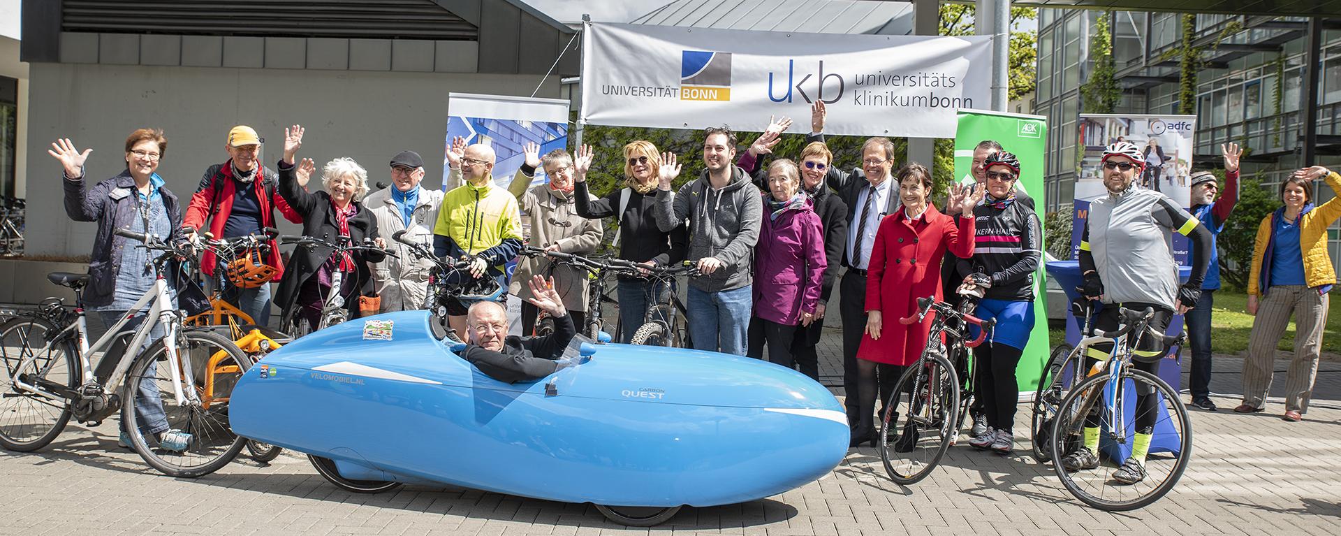 """Universitätsklinikum Bonn ist Schirmherr der Aktion """"Mit dem Rad zur Arbeit"""""""