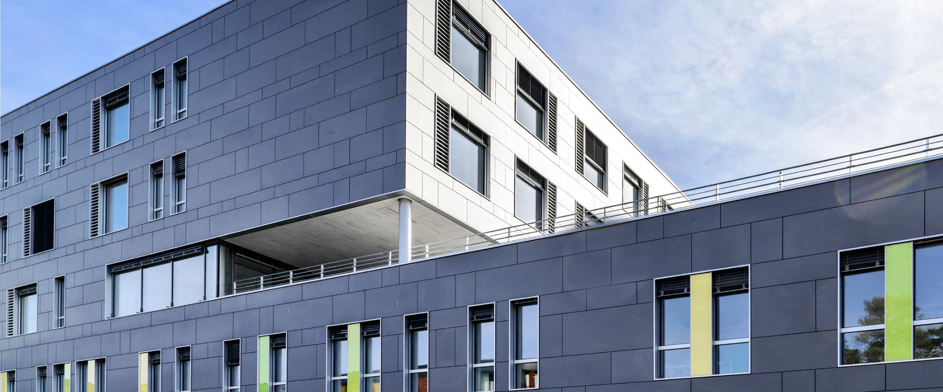 Architektenführung durch den UKB-Neubau der Neurologie, Psychiatrie und Psychosomatik (NPP)
