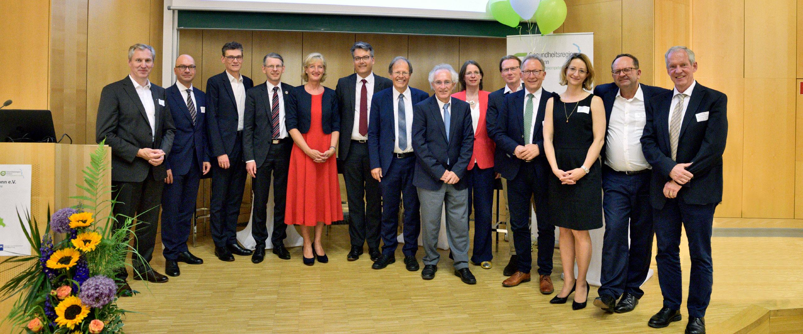 Gesundheitswesen gemeinsam gestalten – Gesundheitsregion KölnBonn e. V. feiert zehnjähriges Bestehen
