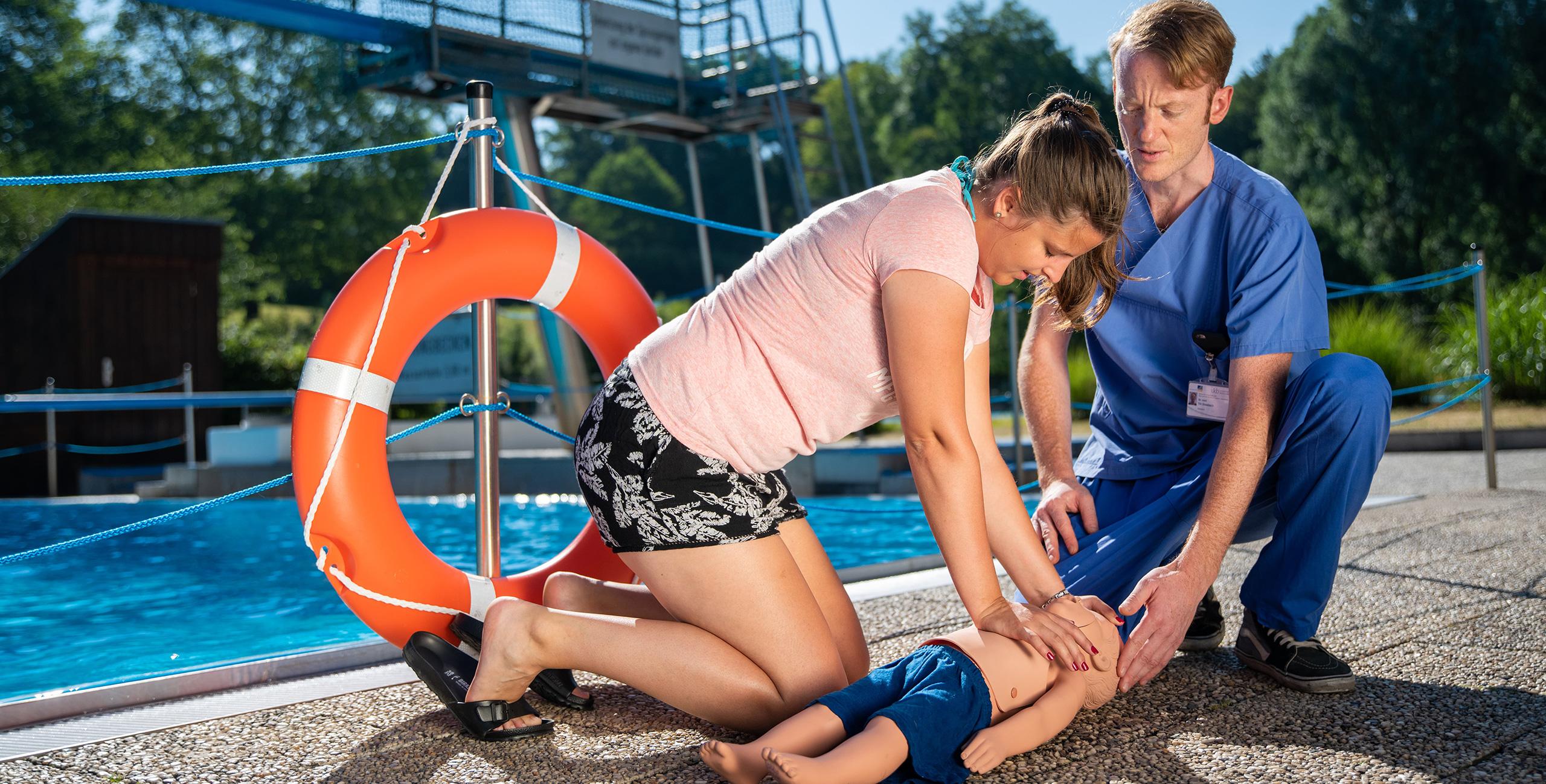 Badeunfälle bei Kindern vermeiden