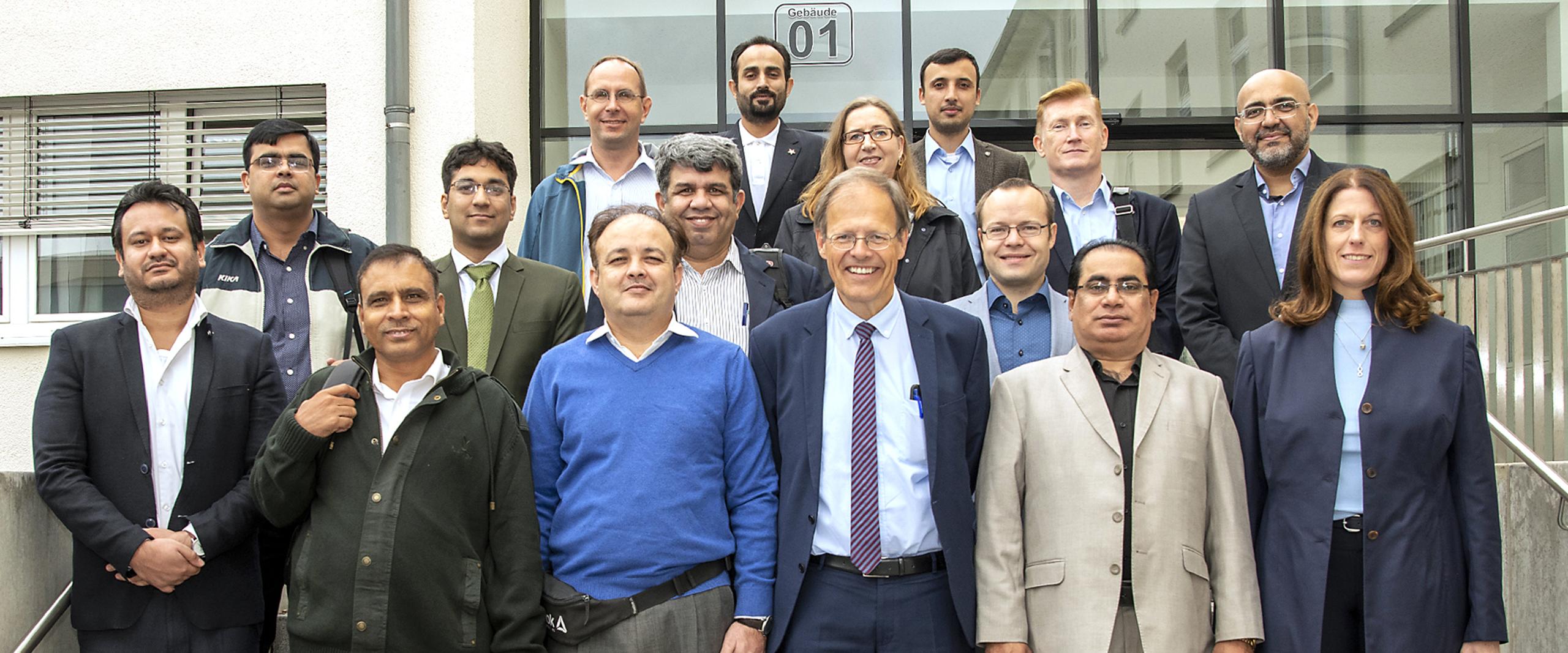 Vertreter des pakistanischen Gesundheitssystems zu Besuch am Universitätsklinikum Bonn